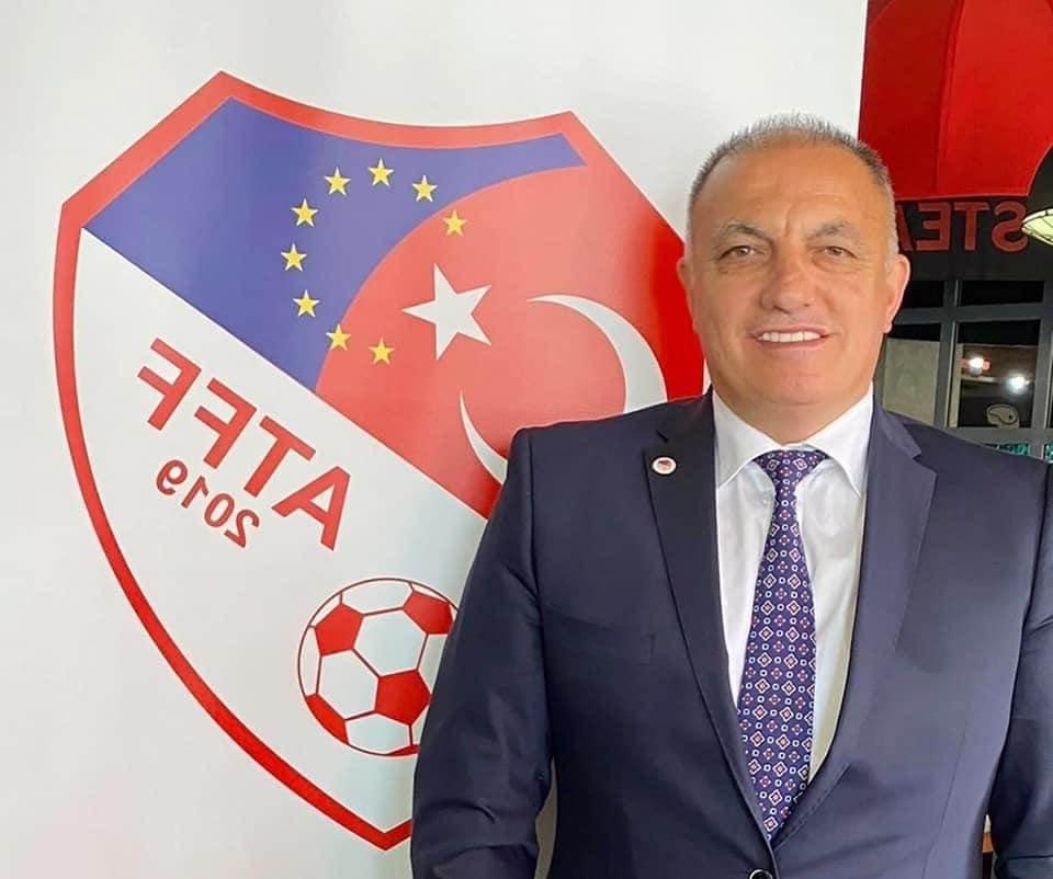Ayhan Yıldız, Avrupa Türk Futbol Federasyonu (ATFF) Başkanlığına Seçildi