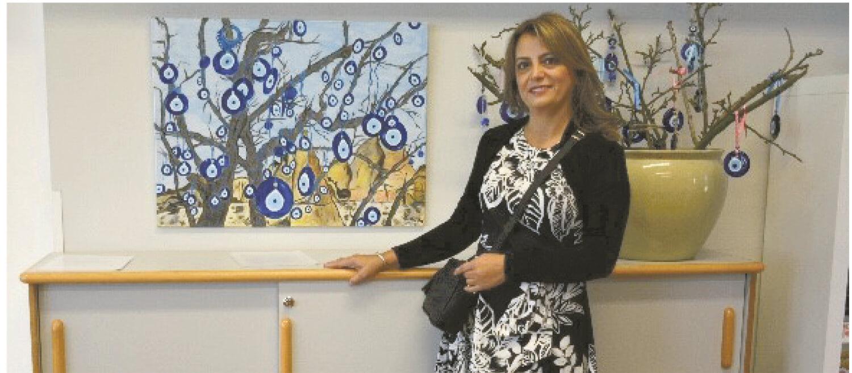 Ressam Gülay Yıldırım Hollanda'da Sergi Açıyor