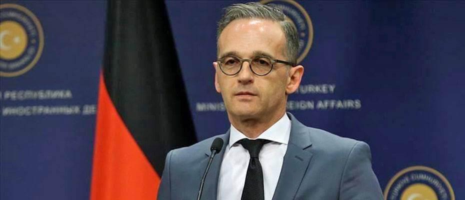 Alman Dışişleri Bakanı Heiko Maas: 'Seyahat uyarısını kaldırmayacağız'