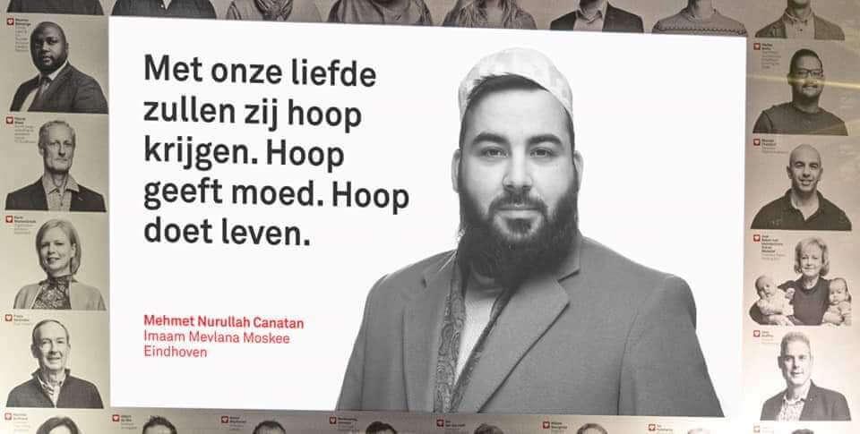 Eindhoven Mevlana Camii'nden anlamlı destek
