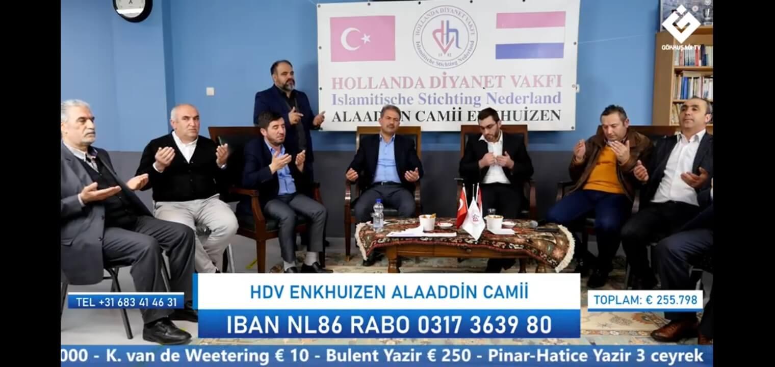 Alaaddin Camii için vatandaşlar seferber oldu: 250 bin Euro toplandı