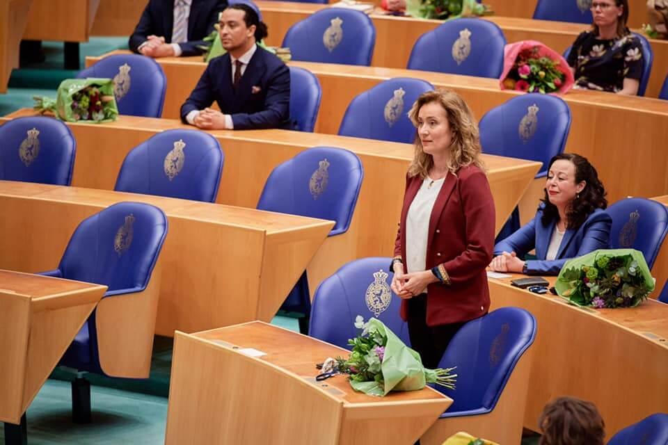 Vera Bergkamp (D66), Meclisin yeni Başkanı seçildi