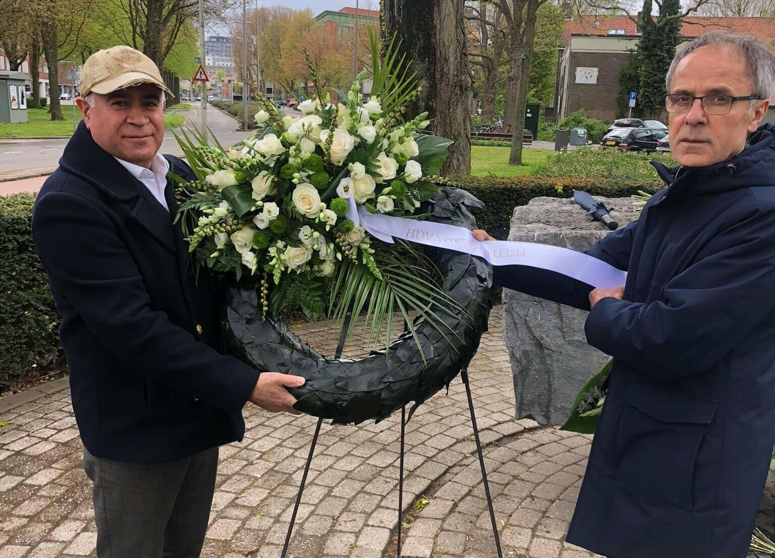 Hollanda'da İkinci Dünya Savaşı Kurbanları Anıldı