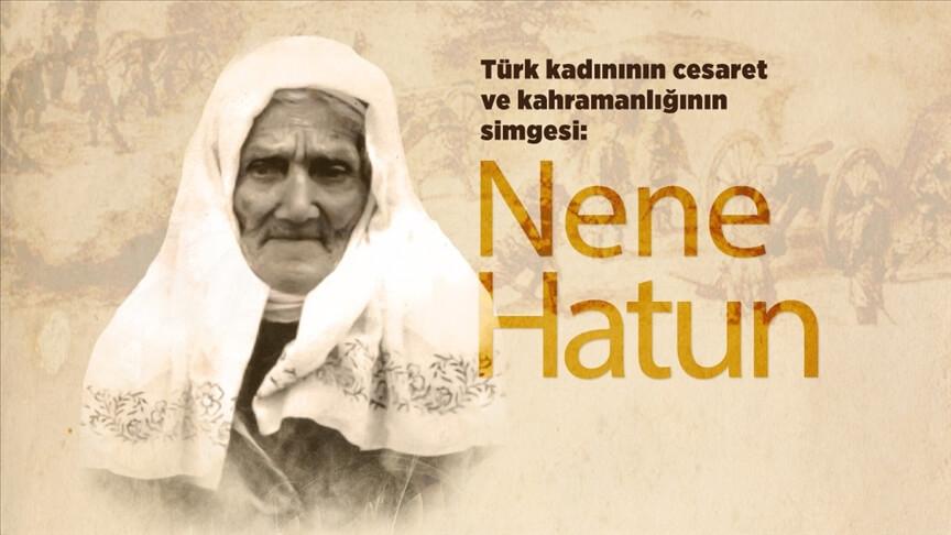 Bebeğini beşikte bırakıp cepheye koşan Türk kadınının kahramanlık simgesi: Nene Hatun